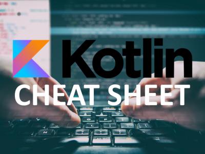 Kotlin cheat sheet