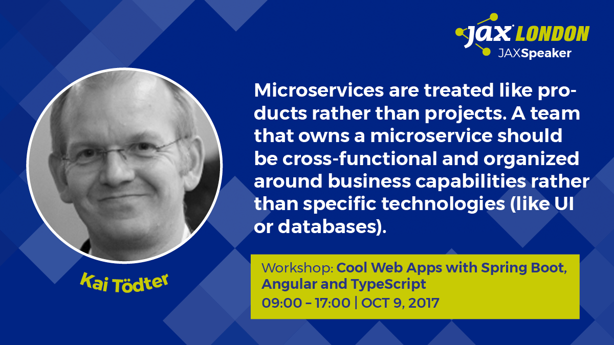 It is all about microservice-based architectures - JAX
