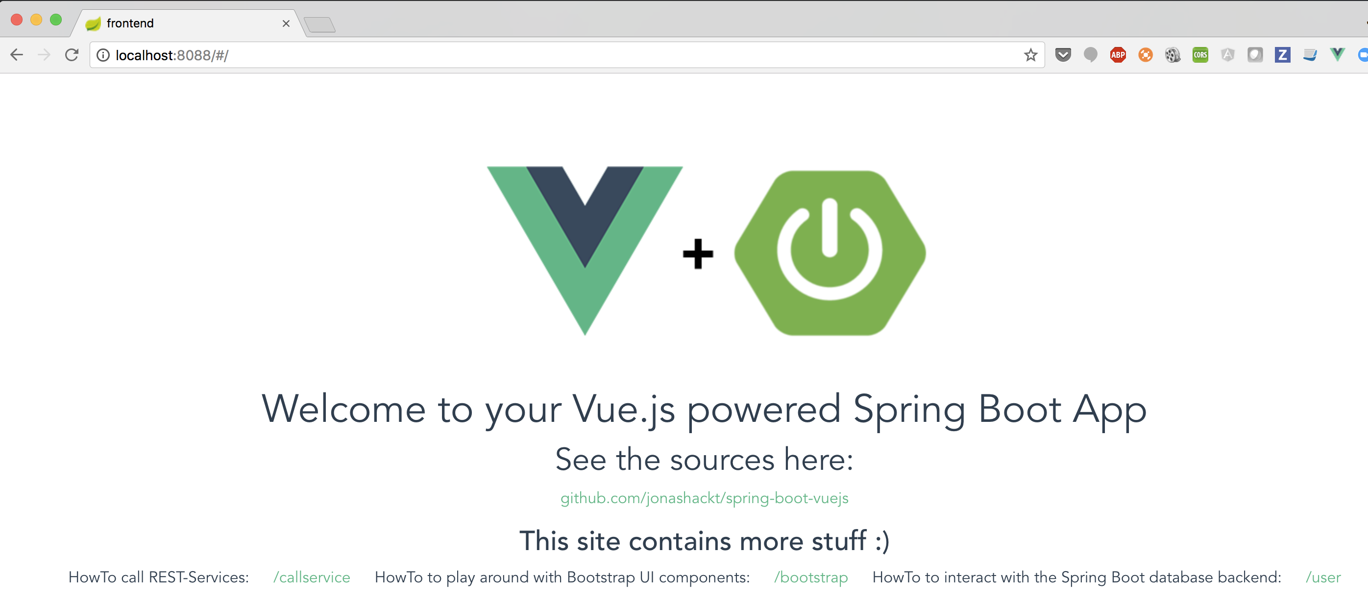 Put Spring Boot and Vue js to practical use in your own