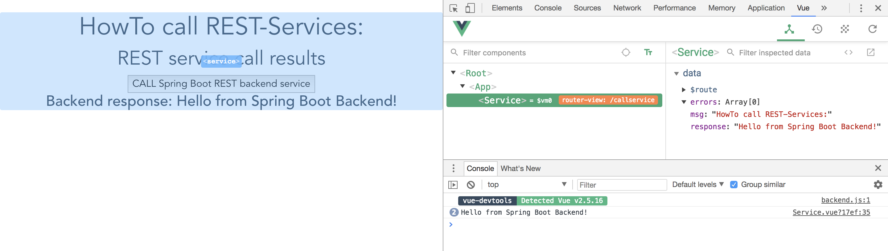 Put Spring Boot and Vue js to practical use in your own project - A